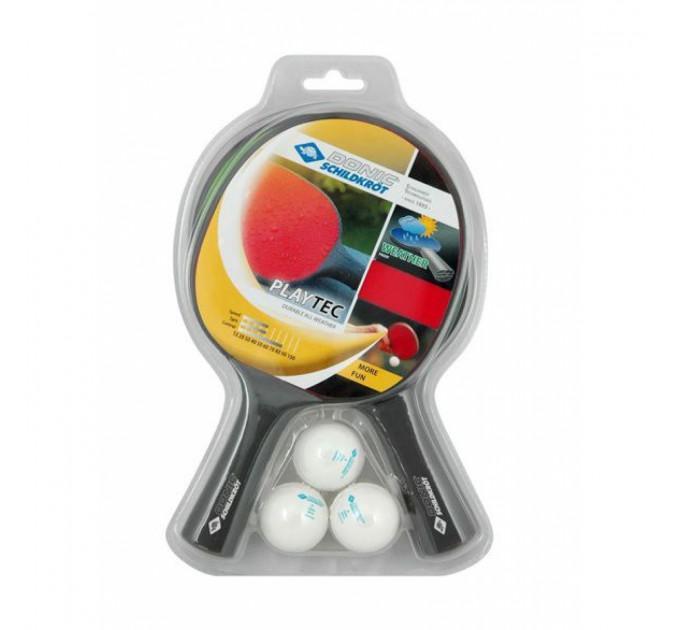 Набор для пинг-понга Donic Playtech 2 players set ✅
