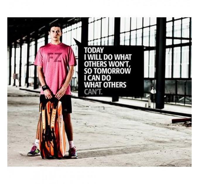 Футболка FZ Forza Levi Tee Mens T-Shirt Bright Rose ✅