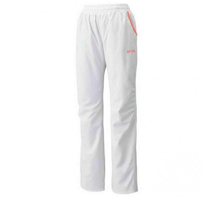 Женские спортивные штаны Yonex 67014 Ladies Tracksuit Pants White ✅