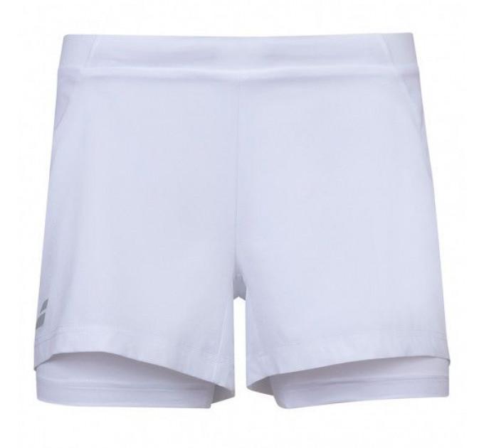 Теннисные шорты детские Babolat EXERCISE SHORT GIRL 4GP1061/1000 ✔