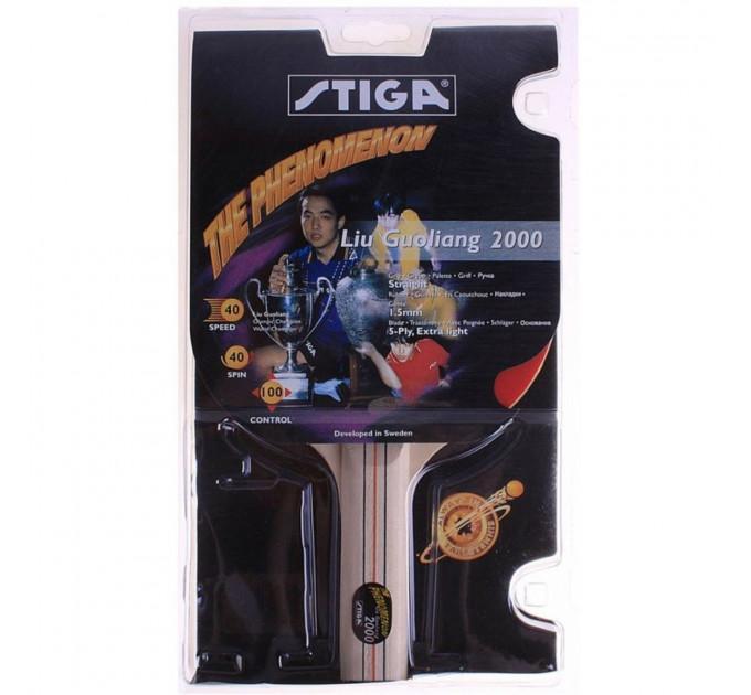 Ракетка для пинг-понга Stiga Liu Guoliang 2000 ✅