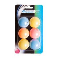 Мячи Donic Colour popps 6шт - Colour popps