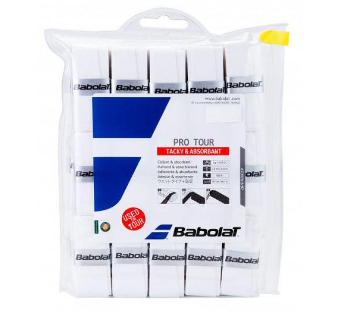 Намотка на ракетку Babolat PRO TOUR X30 (Упаковка,30 штук) 657002/101 ✔