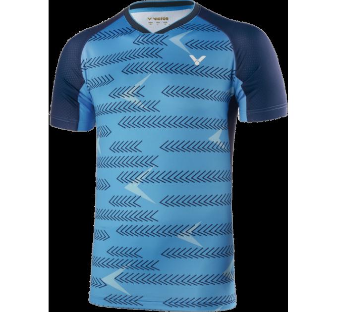 Футболка VICTOR International blue 6639