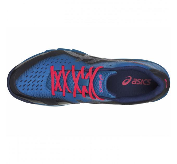Кроссовки мужские Asics Gel-Blade 6 blue print/race blue - R703N-400 ✅