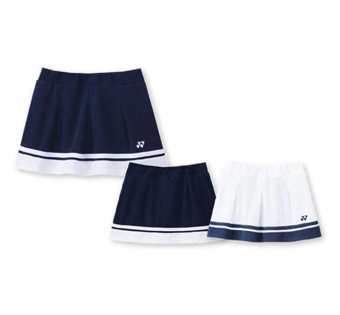 Спортивная юбка Yonex TW-4172 Skirt White ✅