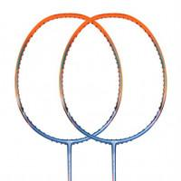Ракетка для бадминтона Li-Ning WindStorm 72 Blue/Orange ✔