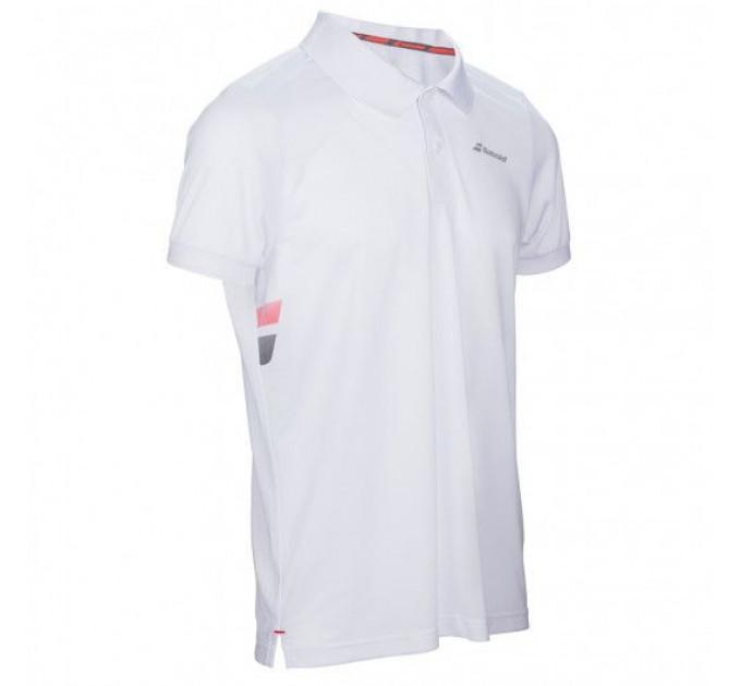 Тенниска для тенниса детская Babolat CORE CLUB POLO BOY 3BS17021/101 ✔