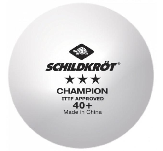 Мячи Donic Champion 40+ 3* white поштучно - 608542 ✅