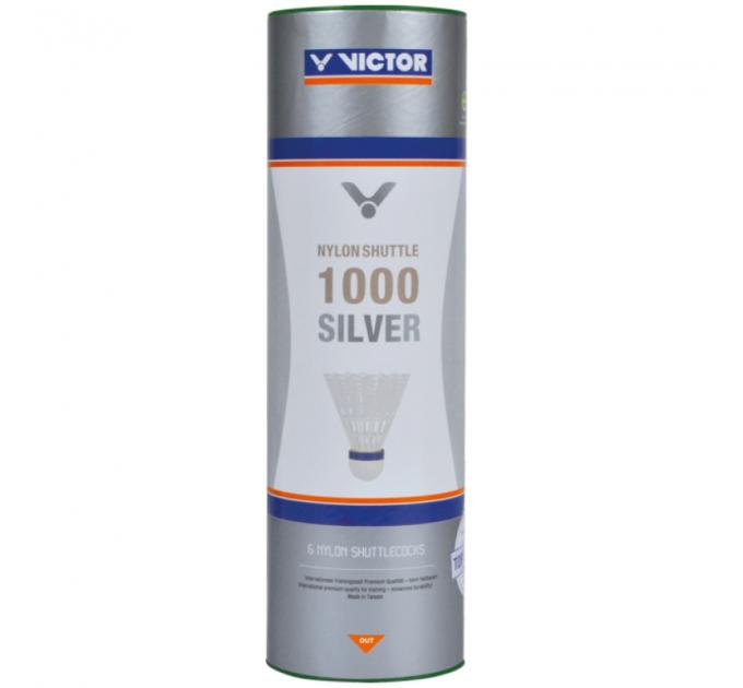 Воланы для бадминтона Victor Nylon Shuttle 1000