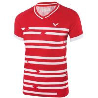 Футболка женская VICTOR Shirt Denmark Female red