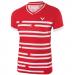 Футболка женская VICTOR Shirt Denmark Female red