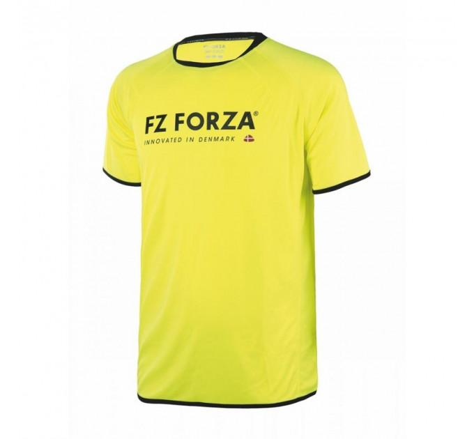 Мужская футболка FZ FORZA Mill Tee Mens T-shirt Safety Yellow ✅
