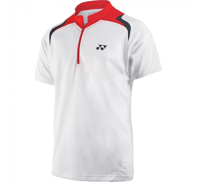 Мужское поло Yonex 10134 Mens Polo Shirt White ✅