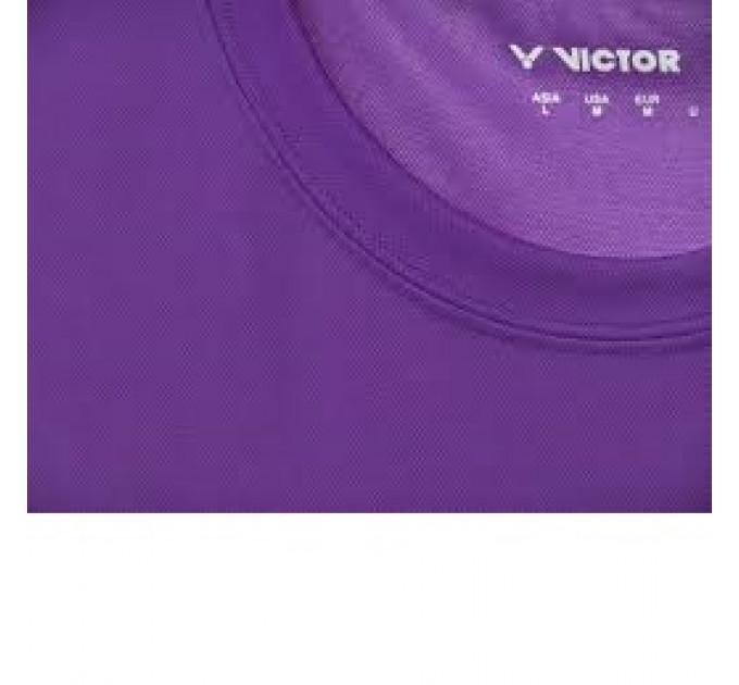 Футболка VICTOR T-Shirt 6673 Purple (Unisex)