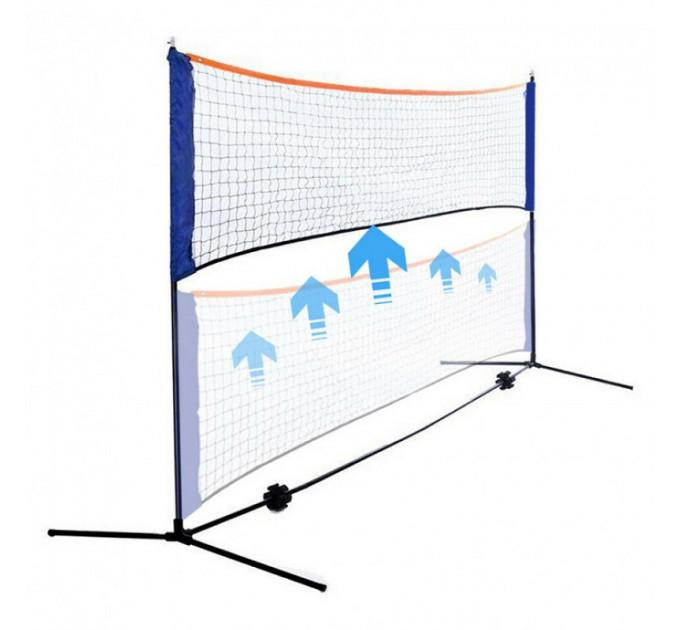 Сетка Sport2go Outdoor Badminton Net (3m)