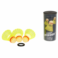 Набор воланов Speedminton Tube Nightpack 3 шт yellow - 400224