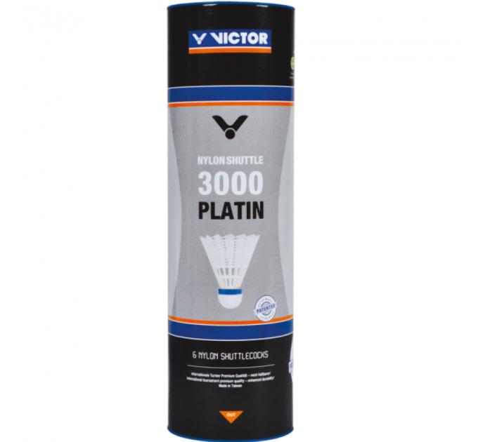 Воланы для бадминтона Victor Nylon Shuttle 3000