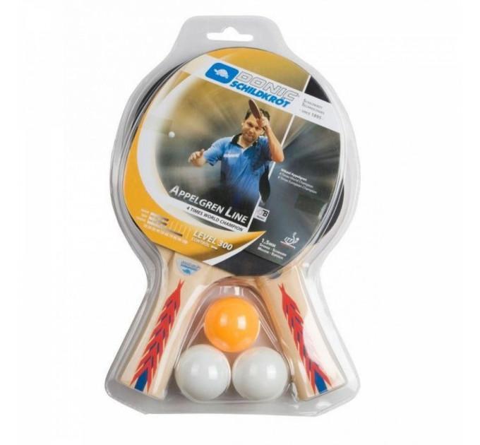 Набор для пинг-понга Donic Appelgren 300 2-player set ✅