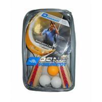 Набор для пинг-понга Donic 4 ракетки+3 мяча+сетка Appelgreen 300 Carry Bag
