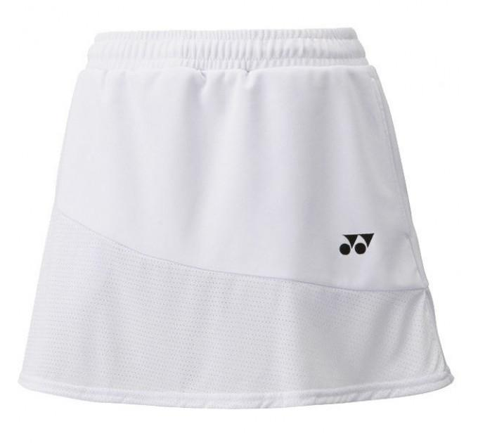 Спортивная юбка Yonex 26020 Ladies Skirt White ✅