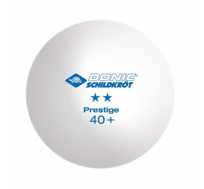 Мячи Donic Prestige 2* 40+ 6шт white - 658021 ✅