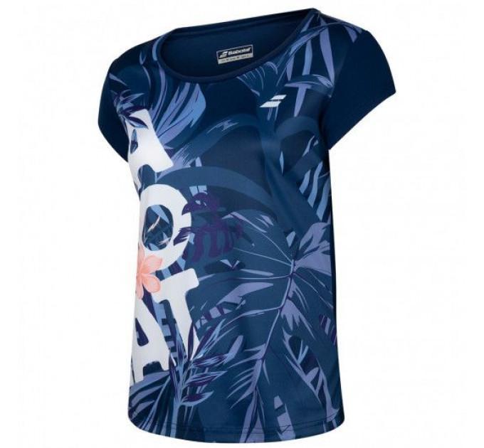 Футболка для тенниса женская Babolat EXERCISE GRAPHIC TEE WOMEN 4WTA012/4000 ✔