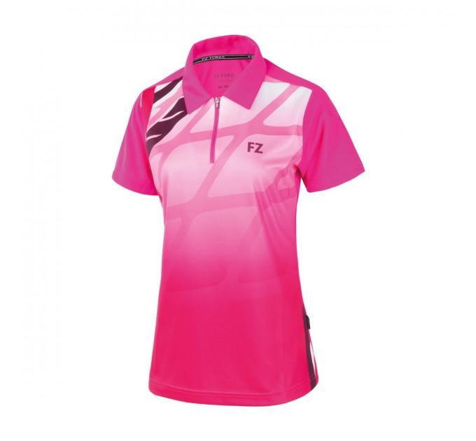 Футболка FZ FORZA Gail Womens Polo Pink Glo ✅