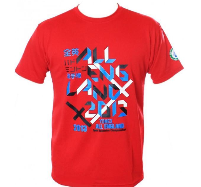 Футболка Yonex All England Red ✅