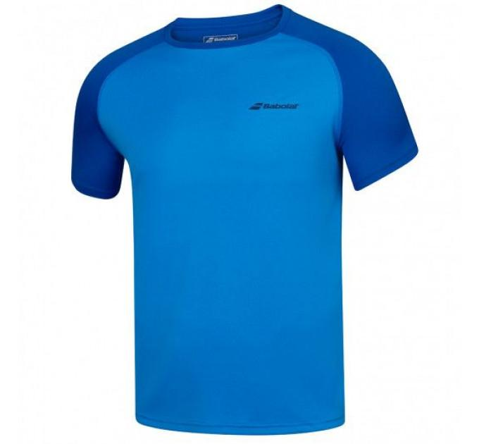 Футболка для тенниса мужская Babolat PLAY CREW NECK TEE MEN 3MP1011/4049 ✔