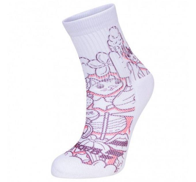 Носки спортивные детские Babolat GRAPHIC SOCKS GIRLS (Упаковка,1 пара) 5GA1451/1037 ✔