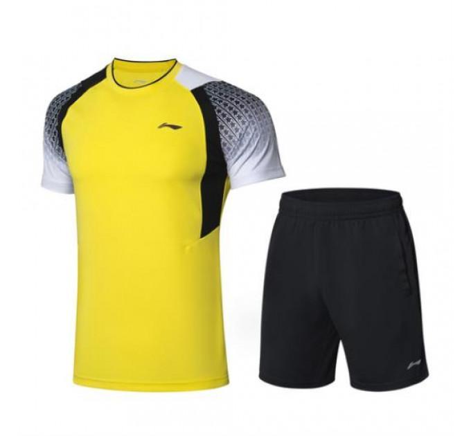 Комплект мужской Li-Ning футболка с шортами ✔