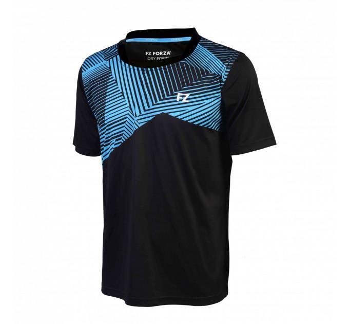 Футболка FZ FORZA Cardiff Polo Mens T-Shirt Black ✅