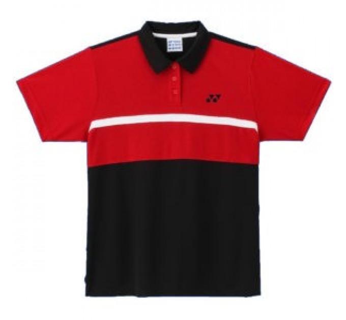 Футболка Yonex1012E Black/Red ✅