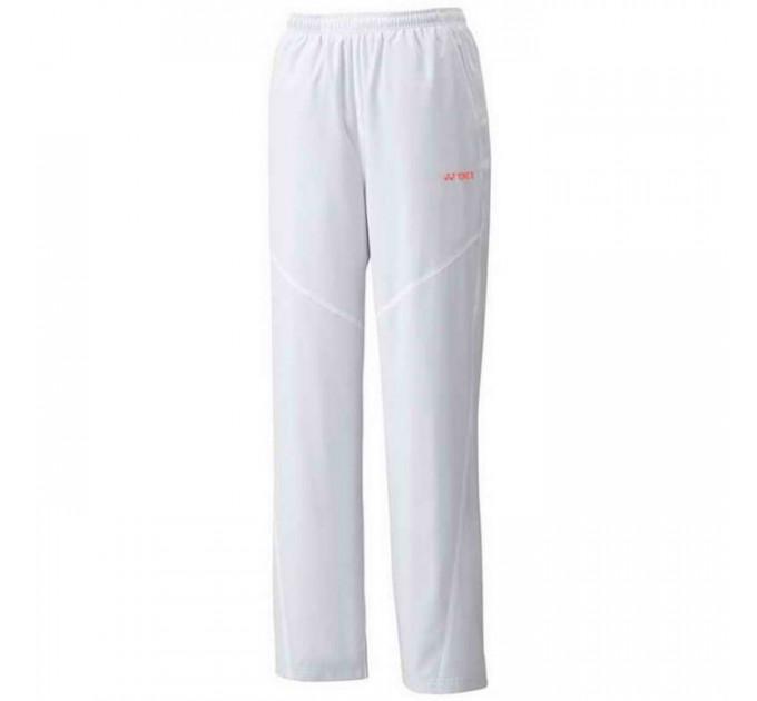 Спортивные штаны Yonex 62003EX Tracksuit Pants White ✅