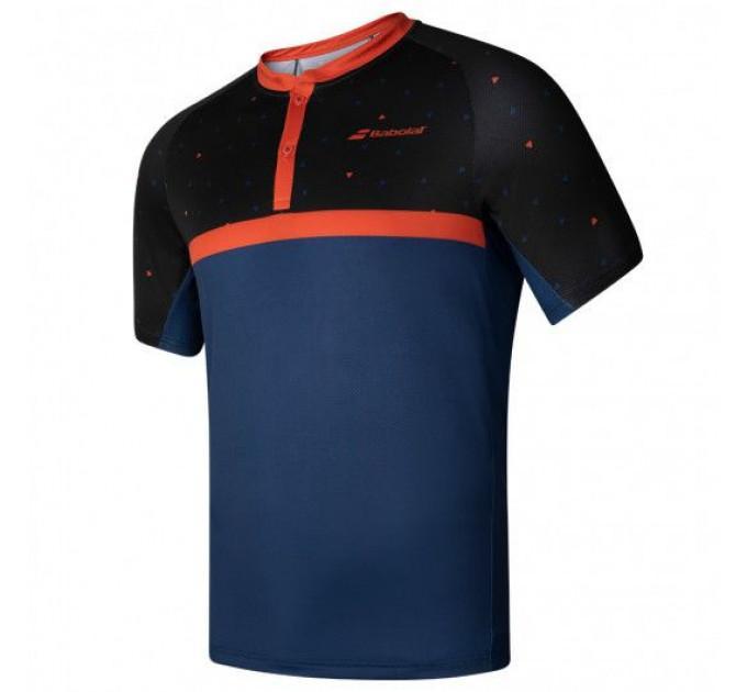 Тенниска для тенниса детская Babolat COMPETE POLO BOY 2BF20021/2018 ✔