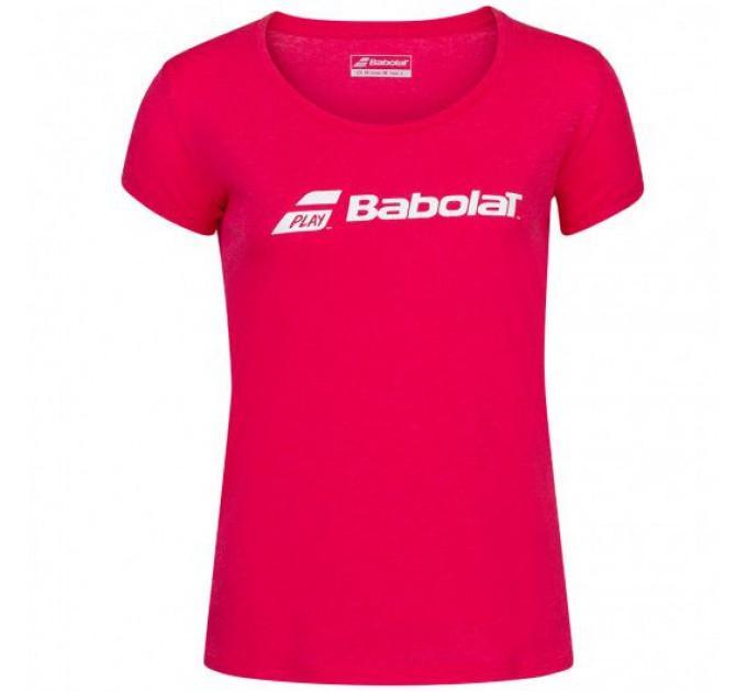 Футболка для тенниса женская Babolat EXERCISE BABOLAT TEE WOMEN 4WP1441/5030 ✔