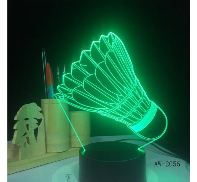 Светодиодный светильник волан 3D