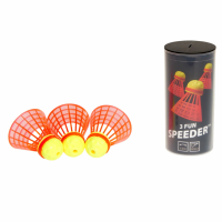 Набор воланов Speedminton Tube Fun 3 шт red - 400221