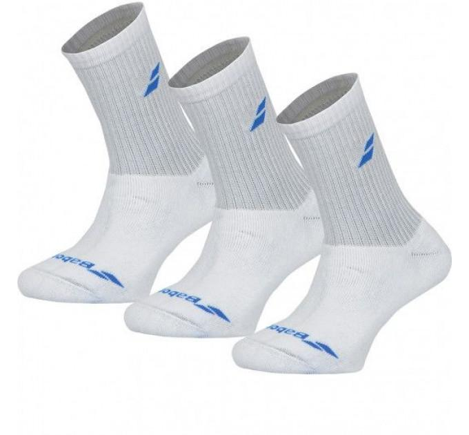 Носки спортивные детские Babolat 3 PAIRS PACK JUNIOR (Упаковка,3 пары) 5JS18371/1010 ✔