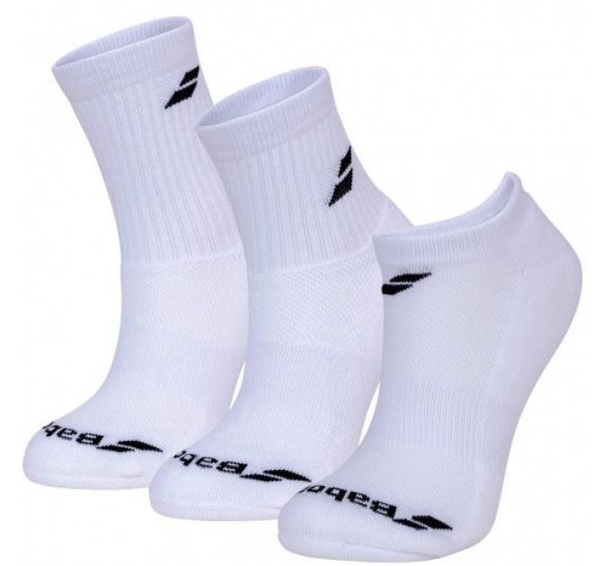Носки спортивные Babolat MIX 3 PAIRS PACK (Упаковка,3 пары) 5UA1411/1000O ✔
