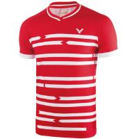 Футболка мужская VICTOR Shirt Denmark Unisex red