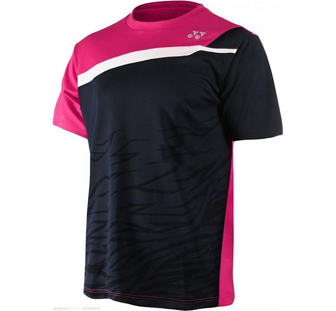 Футболка Yonex 12102EX Men`s T-Shirt Navy Blue ✅