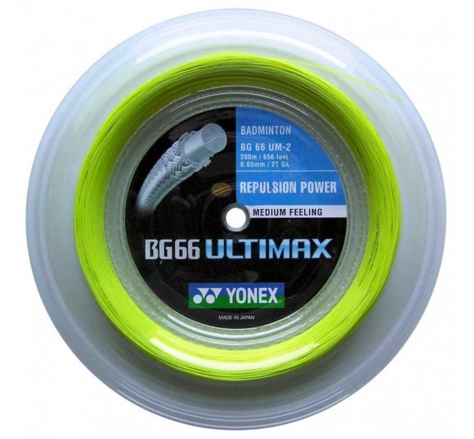 Струна Yonex BG-66 Ultimax (200m) ✅