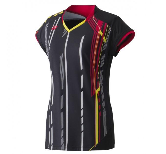Футболка Yonex 20235 Ladies Polo Black ✅