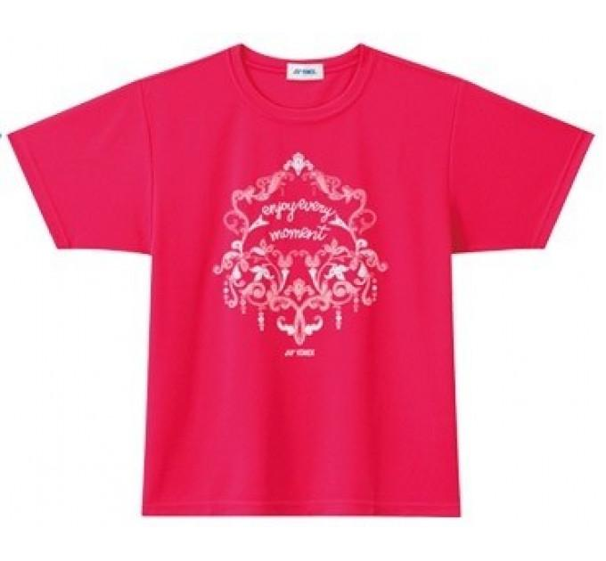 Футболка спортивная Yonex 16204 Bright Pink ✅