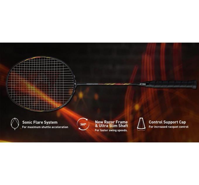 Ракетка для бадминтона Yonex Nanoflare 800 Matte Black ✅