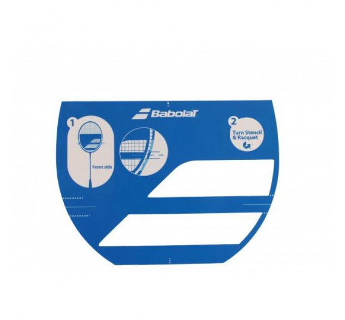 Трафарет бадминтонный для ракетки Babolat STENCIL LOGO BADMINTON 860110/100 ✔
