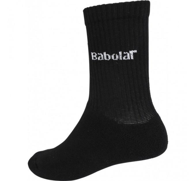 Носки Babolat черные (3 пары)